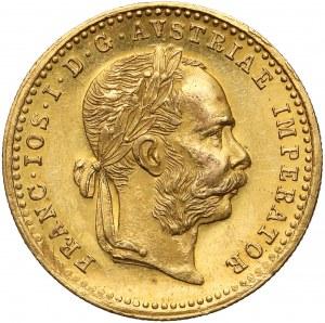 Austria, Franciszek Józef I, Dukat 1884