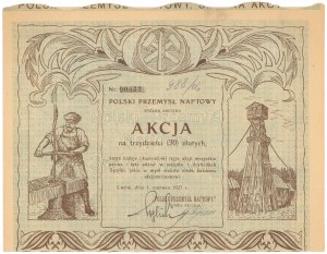 Polski Przemysł Naftowy, 30 zł 1927