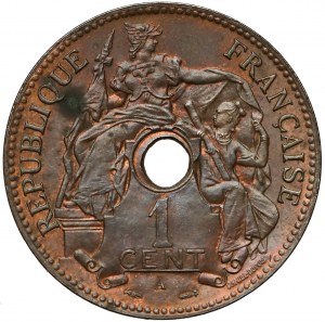 Indochiny francuskie, 1 centime 1896-A