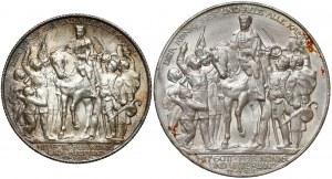 Niemcy, Prusy, 2 i 3 marki 1913 - Bitwa Narodów (2szt)