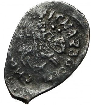 Rosja, Wasyl II Ślepy (1425-62), Dienga - Głowa (R5)