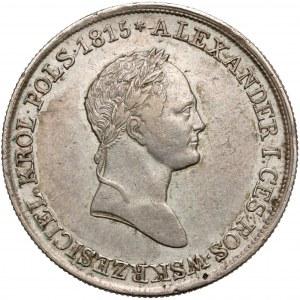 5 złotych polskich 1830 KG - z puncą