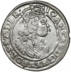 Jan II Kazimierz, Szóstak Bydgoszcz 1666 AT