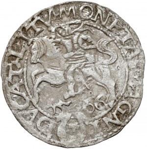 Zygmunt II August, Półgrosz Tykocin 1566 - Jastrzębiec - rzadki