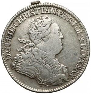 Fryderyk Krystian, 2/3 talara 1763 FWóF, Drezno