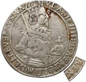 Władysław IV Waza, Talar Bydgoszcz 1633 II - błąd R•EX - b.rzadki
