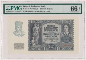 20 złotych 1940 - L
