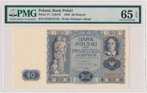 20 złotych 1936 - DT