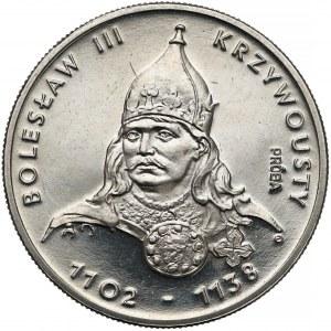 Próba NIKIEL 50 złotych 1982 Bolesław III Krzywousty