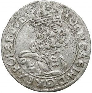Jan II Kazimierz, Szóstak Lwów 1662 AcpT