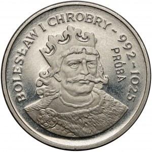 Próba NIKIEL 2.000 złotych 1980 Bolesław Chrobry