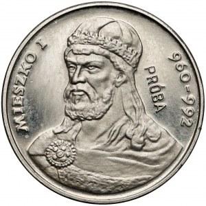 Próba NIKIEL 2.000 złotych 1979 Mieszko I - popiersie