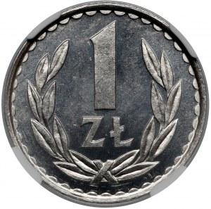 PROOF LIKE 1 złoty 1984