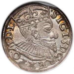 Zygmunt III Waza, Trojak Poznań 1593 - PIĘKNY