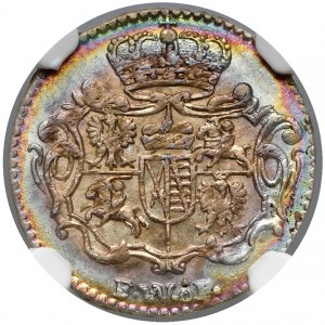August III Sas, 1/48 talara 1743 FWóF, Drezno - piękna