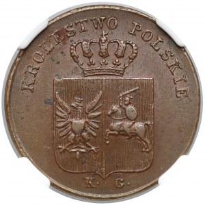 Powstanie Listopadowe, 3 grosze 1831 KG