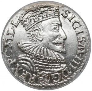 Zygmunt III Waza, Trojak Malbork 1593 - menniczy