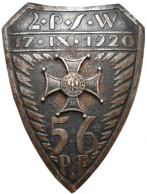 Odznaka 56 Pułk Piechoty Wielkopolskiej