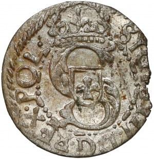 Zygmunt III Waza, Szeląg Ryga 1614 - pełna data