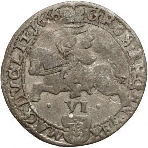 Jan II Kazimierz, Szóstak Wilno 1666