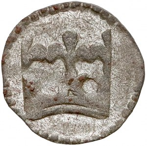Władysław II Jagiełło, Denar Kraków - korona BEZ lilijek