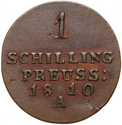 Niemcy, Prusy, Fryderyk Wilhelm III, Szeląg 1810-A