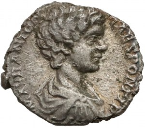 Cesarstwo Rzymskie, Karakalla, Denar, Laodicea 198 r. n.e.