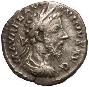 Cesarstwo Rzymskie, Marek Aureliusz, Denar, Rzym 180 r. n.e.