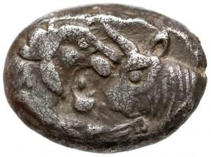 Grecja, Lydia Krezus (Kroisos) 1/2 Statera AR Siglos VI wiek p.n.e.