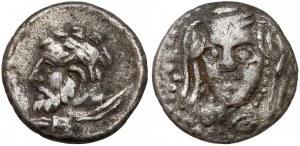 Grecja, Cylicja, Hemiobol, 400-300r. p.n.e.