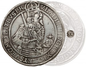 Władysław IV Waza, Talar Toruń 1636 II - RZADKI rok