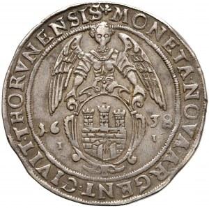 Władysław IV Waza, Talar Toruń 1638 II - wczesne pop.