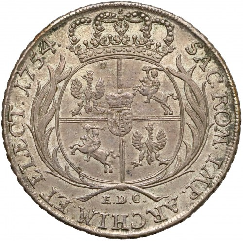August III Sas, Talar 1754 EDC - z literą L