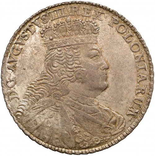 August III Sas, Talar 1755 EDC - piękny