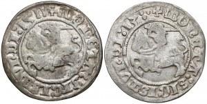 Zygmunt I Stary, Półgrosze Wilno 1511 i 1513 (2szt)