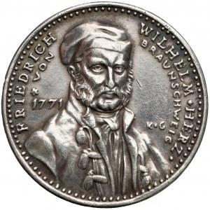 Niemcy, Brunszwik, Medal 100-lecie śmierci Fryderyka Wilhelma 1915 (Goetz)