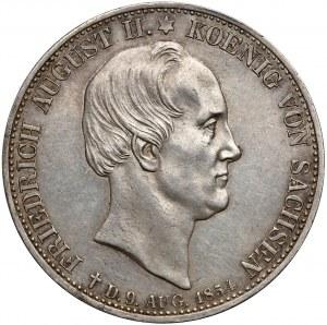 Niemcy, Saksonia, Talar pośmiertny 1854