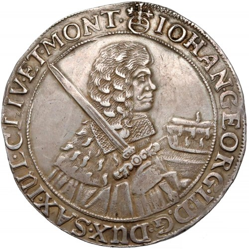 Niemcy, Saksonia, Talar Drezno 1664 - bardzo ładny
