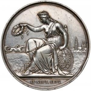 Śląsk, Wrocław, Medal 50. rocznica Śląskiego Klubu Wyścigowego 1882
