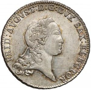 Niemcy, Saksonia, 2/3 talara (gulden) 1771 EDC