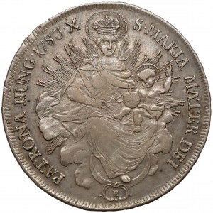 Węgry, Józef II, Talar Kremnica 1783-B