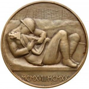 Medal Poległym Cześć 1924 r.