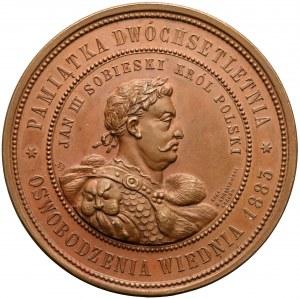 1883 r. Medal 200. rocznica Odsieczy Wiedeńskiej (Kurnatowski)