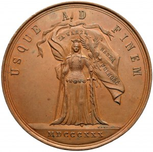 1880 r. Medal 50. rocznica Powstania Listopadowego (Malinowski)