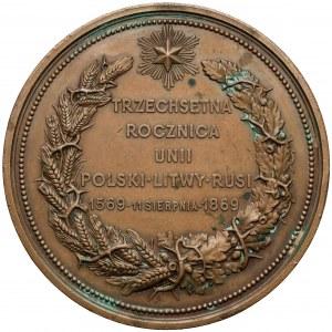 1869 r. Medal 300. lecie Unii Lubelskiej