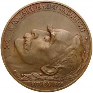 Medal Józef Piłsudski, Rocznica Śmierci 1936 r.