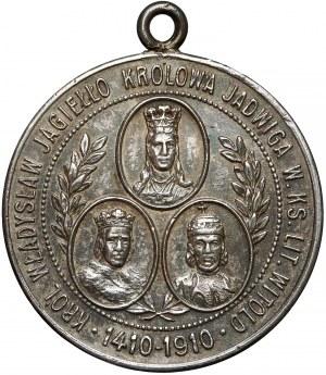 Medal 500. rocznica pogromu Krzyżaków, Gunwald, 1910 r.