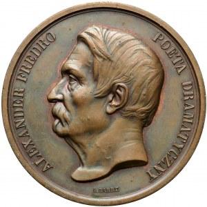 1864 r. Medal Aleksander Fredro