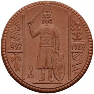 Niemcy, Medal PORCELANA 1000-lecie Nordhausen 1927