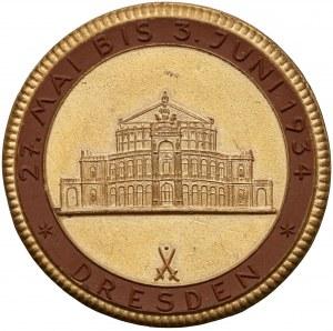 Niemcy, III Rzesza, Medal Reichstheater Festwoche Drezno 1934